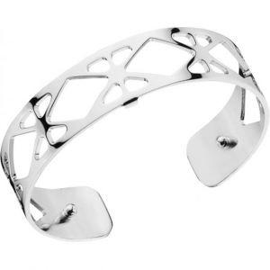 Les Georgettes Bracelet Résille Argent Small