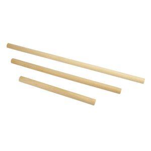 CTOP Tige en bois Support macramé Set 3 pcs