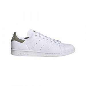 Adidas Stan Smith, Basket Homme, FTWR White/Trace Cargo/FTWR White, 41 1/3 EU