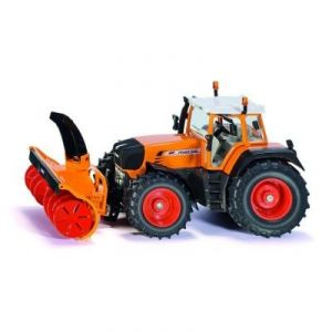 Siku Tracteur avec fraiseuse à neige