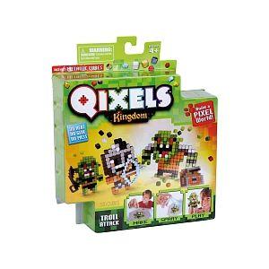 Kanaï Kids Mini Kits Qixels - Royaume Thème Troll Attack