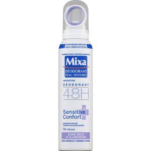 Mixa Déodorant Atomisateur Sensitive Confort sans Sels d'Aluminium 50 ml