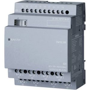 Siemens API Module d'extension 6ED1055-1NB10-0BA2 LOGO! DM16 24R 0BA2 1 pc(s)