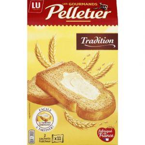 Image de Lu Pelletier La Gourmande Tradition - Biscottes épaisses - La boîte de 285g