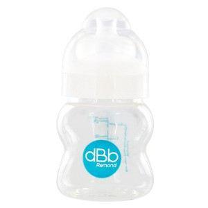 dBb Remond 129705 - Biberon L.O en polypropylène 125 ml avec tétine en silicone (0-4 mois)
