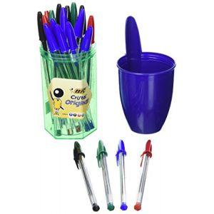 Bic Pochette de 24 stylos-bille cristal