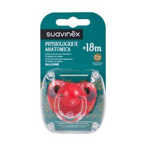 Suavinex Sucette physiologique en silicone Winter 18-36 mois