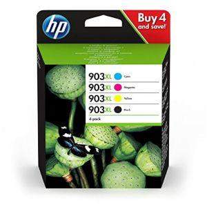 HP 903 XL Multipack Noir(e) / Cyan / Magenta / Jaune Original 3HZ51AE