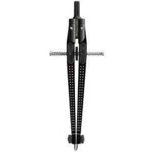 Faber-Castell 174434 Compas à réglage instantané GRIP noir