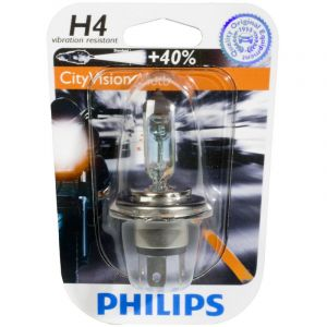 Philips 1 ampoule 2 roues H4 City Vision