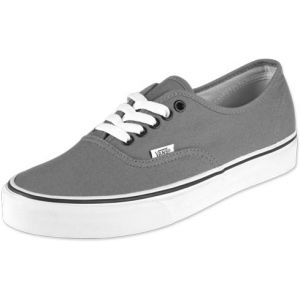 Vans U Authentic - Baskets Mode Mixte Adulte - Gris (Pewter/Black) - 37 EU