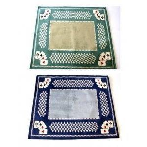 Tapis pour jeux de cartes Luxe 70 X 60 cm
