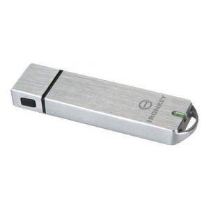 Kingston IKS1000B/128GB - Clé USB 3.0 IronKey Basic S1000 128 Go crypté