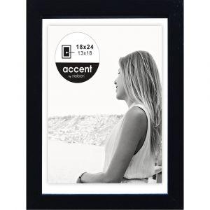 Nielsen design Nielsen Aura black 18x24 Wood incl. Passepartout 1134000