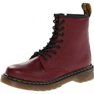 Dr. Martens Bottines cuir Delaney Junior Rouge - Taille 34;32;31;35;29;30;28;33