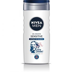 Image de Nivea MEN Gel Douche Sensitive Edition Limitée Paris Saint-Germain (PSG) 250 ml