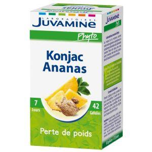 Juvamine Konjac Ananas Perte De Poids 42 Gelules