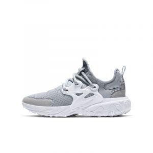 Image de Nike Chaussure Presto React pour Enfant plus âgé - Gris - Taille 35.5 - Unisex