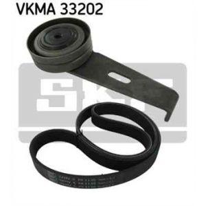 SKF Kit de courroies d'accessoires VKMA33202