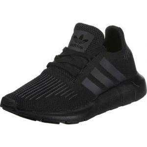 Adidas Swift Run, Chaussures de Running Entrainement Mixte Enfant, Noir (Core Black/Utility Black/Core Black), 35.5 EU