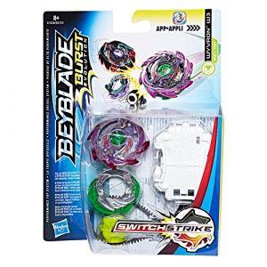 Hasbro Beyblade Burst Evolution - Toupie + Lanceur SwitchStrike - Wyvron (E1028)