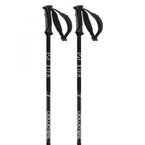 Salomon X 08 Black Bâtons de ski Homme