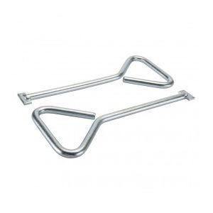 Silverline 224675 - 2 clés pour plaque d'égout 320 mm
