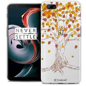 CaseInk Coque OnePlus 5T (6 ) Extra Fine Autumn 16 Tree