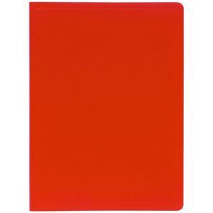 Exacompta 8525E - Protège-documents Eco A4 40 vues, polypro souple rouge