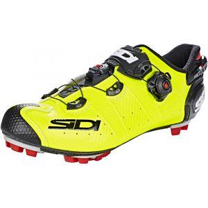 Sidi MTB Drako 2 SRS - Chaussures Homme - jaune/noir 44 Chaussures VTT à cales