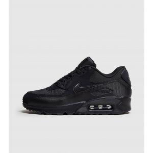 Nike Air Max 90 Essential, Baskets Basses Homme, Noir (Black), 43 EU
