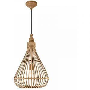 Eglo Lampe suspendue AMSFIELD Marron 49772