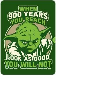 Magnet en métal Yoda Star Wars