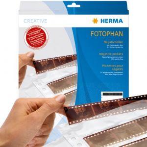 Herma 7767 - Pochettes pour négatifs 7 x 5, clair