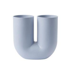 Muuto Vase Kink / Céramique bleu clair en céramique