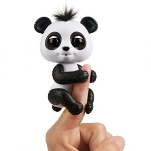 Wow wee Bébé Panda Fingerlings Noir / Drew
