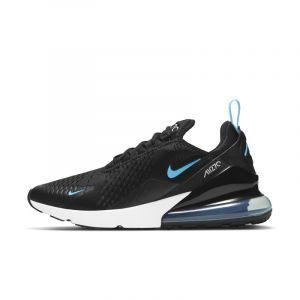 Nike Homme Air Max 270 Noir Bleu Et Blanc Rétro-Running