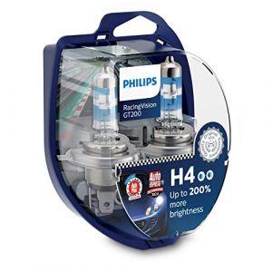 Philips Ampoule halogène H4 H4 RacingVision GT200 12342RGTS2 RacingVision 60/55 W 12 V 1 paire(s)