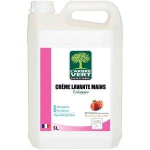L'Arbre Vert Crème lavante mains écologique - 5 L