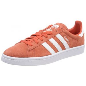Adidas Originals Baskets Campus Homme Corail Rouge - Taille UK 7