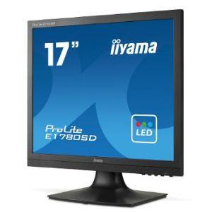 "iiyama ProLite E1780SD-B1 - Écran LED 17"""