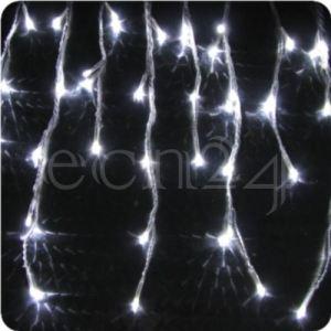 Fdl Guirlande stalactites LED effet chute de neige (8 m)