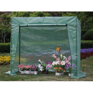 Viva Green Petunia - Serre à tomate 1.6m² (2 x 0.77 x 1.69 m)