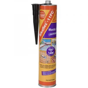 Sika Mastic-colle Multi-usages - Noir - 380 g