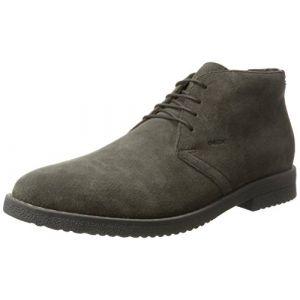 Geox U Brandled E, Desert Boots Homme, Gris (Mud), 44 EU