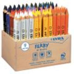 Lyra 96 Crayons de couleur Ferby assortis