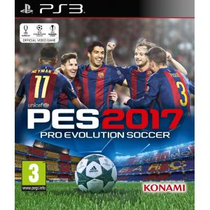 PES 2017 : Pro Evolution Soccer [PS3]