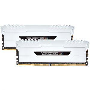 Corsair CMR16GX4M2C3200C16W - Barrettes mémoires Vengeance RGB 16Go DDR4 3200MHz