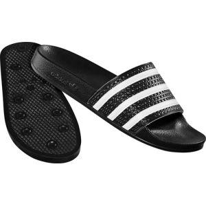 Adidas Adilette, Sandales pour femme noir 44 1/2 EU