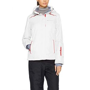 Columbia The Slope Pant Pantalon de Ski Femme, Blanc, FR : L (Taille Fabricant : L)